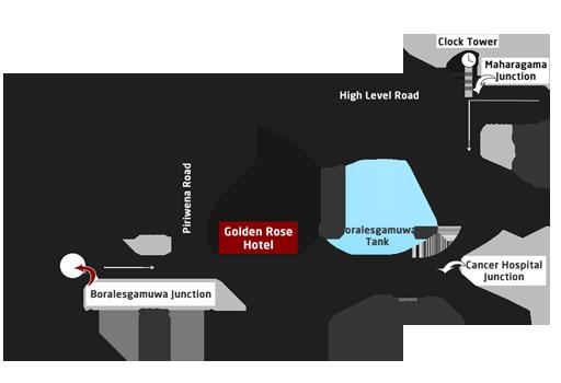 Golden Rose Road Map